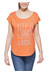 Prana Tandi t-shirt oranje